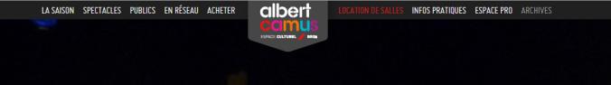 espace culturel albert camus